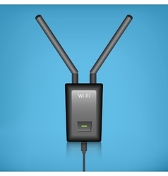 Wi-fi router vector