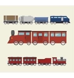 Railroad train isolated icon design vector