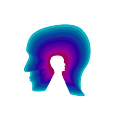 anxiety disorder icon vector image