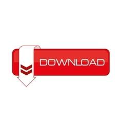 download data cloud connection web vector image