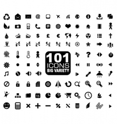 General icons vector