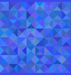 Geometric abstract triangle mosaic pattern vector