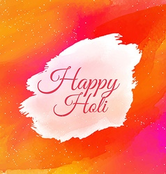 Indian happy holi colorful background vector