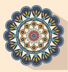 mandala vintage decorative elements vector image