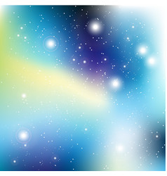 Universe with stars matrix of glowing stars space vector