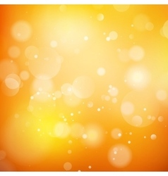Orange abstract background EPS 10 vector image