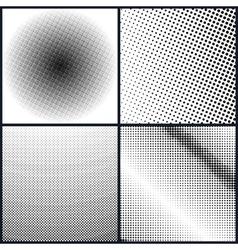 Set of pop art background vector