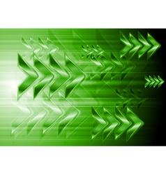 Abstract arrows design vector image vector image