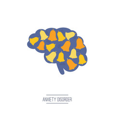 Anxiety disorder icon vector