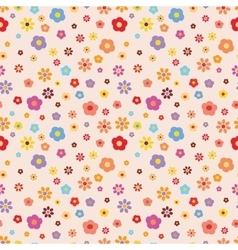 flower pattern summer pattern vector image vector image