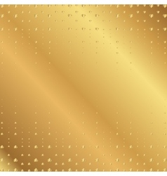 Golden heart background vector