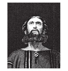 Portrait of daniel vintage vector
