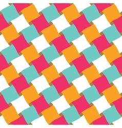 Seamless Basket Pettern vector image vector image