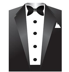 Tuxedo vector image vector image