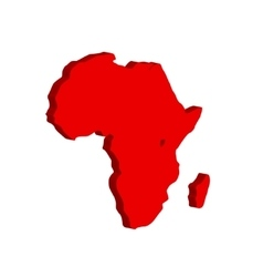 The african continent bulk vector