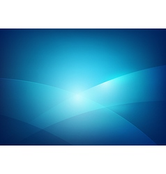 Blue abstract background lighting curve and layer vector