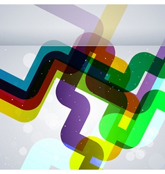 Abstract pipes background vector image vector image