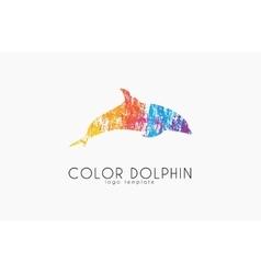 Dolphin logo Water logo Creative logo design vector image