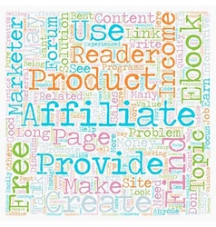 How free ebooks can explode your affiliate income vector