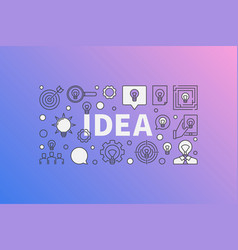 idea modern vector image