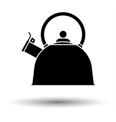 kitchen kettle icon vector image
