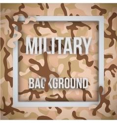 Military modern camo background vector