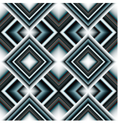 seamless pattern of rhombuses vector image vector image