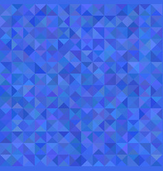 Triangle mosaic pattern background - from vector