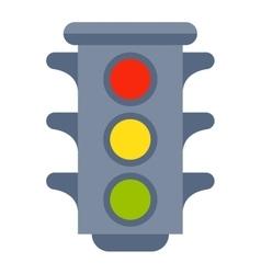 Traffic light isolated vector