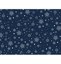 Winter Holiday Background vector image