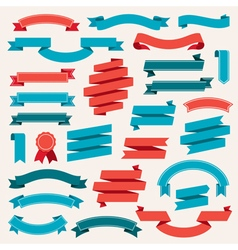 Ribbon Banners vector image
