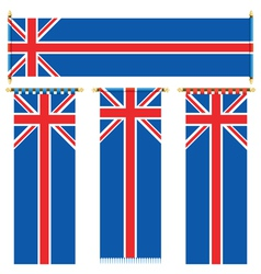 Uk banners vector