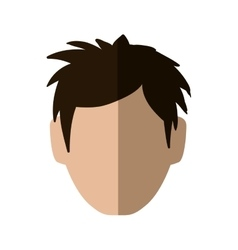 Man head icon avatar male design graphic vector