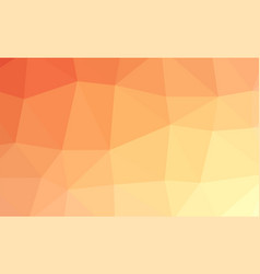Abstract red orange colorful lowploly of many vector