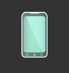 Geometric Smart Phone vector image