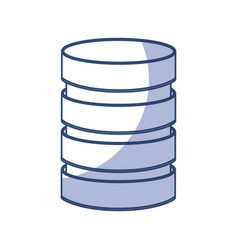 Storage database disks vector