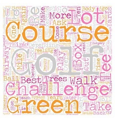 Four good reasons to take up golf as a sport text vector