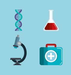 Medical science design vector