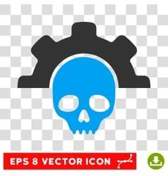 Dead tools eps icon vector