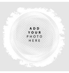 Frame circle vector image
