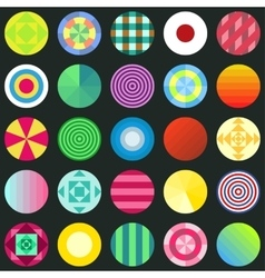 seamless circles texture for wallpapers vector image vector image