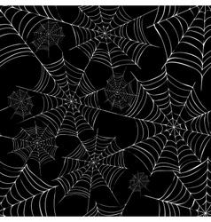 Spiders web vector image