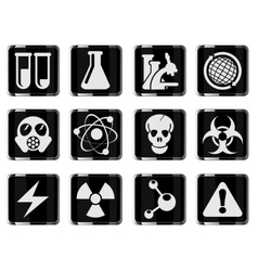 Science symbols vector