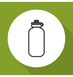 Bottle icon design vector