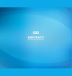 Abstract blue background with curve lines smooth vector