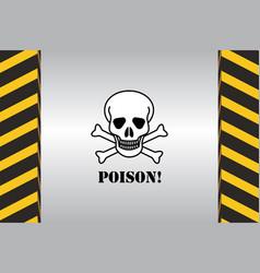 Warning hazard signs vector