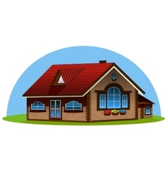 3d house vector