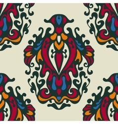 damask flowerl pattern design vector image
