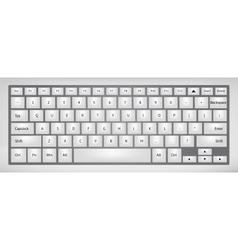 Laptop keyboard vector image vector image