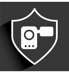 Media palyer icon vector